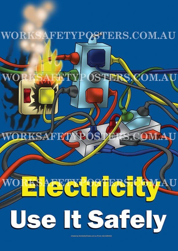 Electricity Hazards Poster