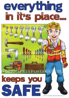 Neat and Tidy Workplace Safety Posters