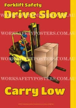 Forklift Safety Posters