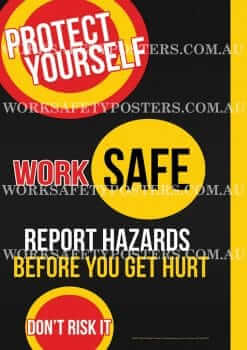 Work Safe Posters