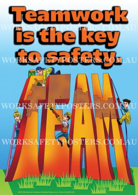 Teamwork Safety Posters