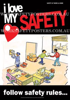 Follow Safety Procedures Poster