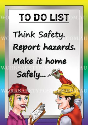 Safety Responsibility Poster