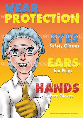 Wear Protection PPE Workplace Safety Poster