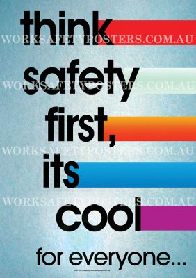 Think Safety Poster