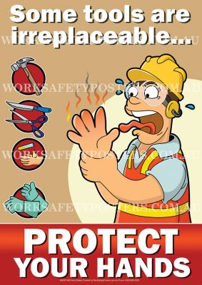 Hand Protection Safety Posters