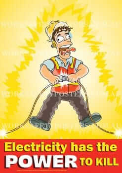 Electricity Safety Poster
