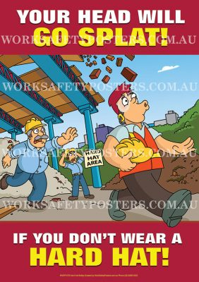 Hard Hats Safety Poster