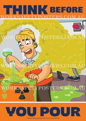 Chemical Pouring Safety Poster