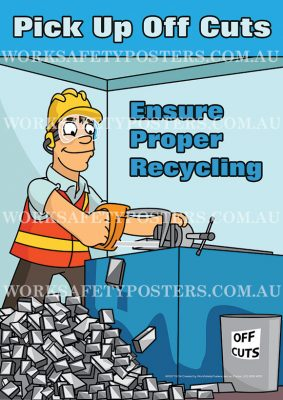 Ensure Proper Recycling Safety Poster