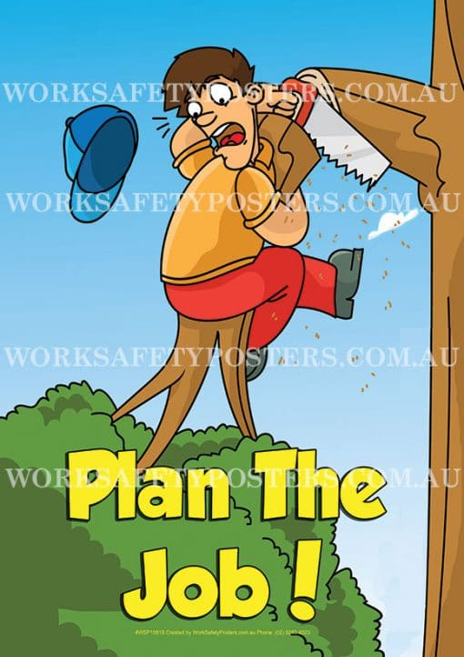 Plan The Job Quality Poster