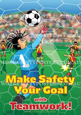 Make Safety Your Goal Workplace Safety Poster