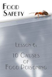 10 Causes of Food Poisoning Food Safety DVD
